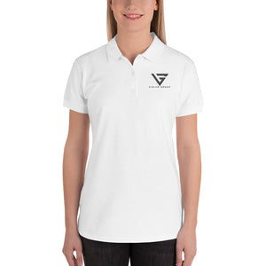 VG Embroidered Women's Polo Shirt