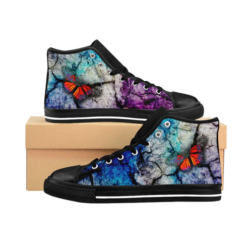 PSYCHEDELIA Women's High-top Sneakers