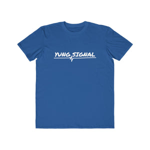 YUNG SIGNAL - MARKER WHITE Men's Lightweight Fashion Tee