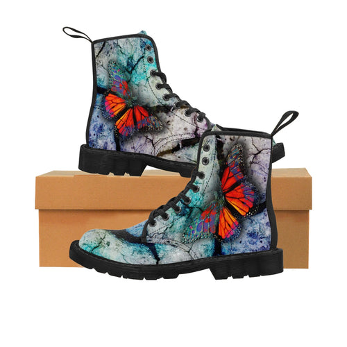 PSYCHEDELIA Women's Martin Boots