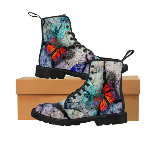 PSYCHEDELIA Men's Martin Boots
