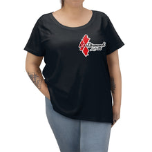 Load image into Gallery viewer, 3 DIAMONDS Women's Curvy Tee