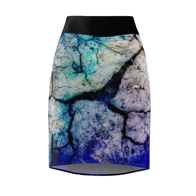 PSYCHEDELIA Women's Pencil Skirt