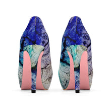 Load image into Gallery viewer, PSYCHEDELIA Women's Platform Heels