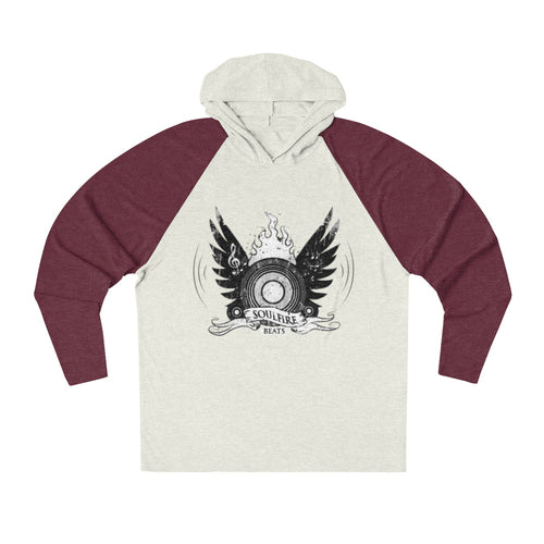 SOULFIRE BEATS Unisex Tri-Blend Hoodie