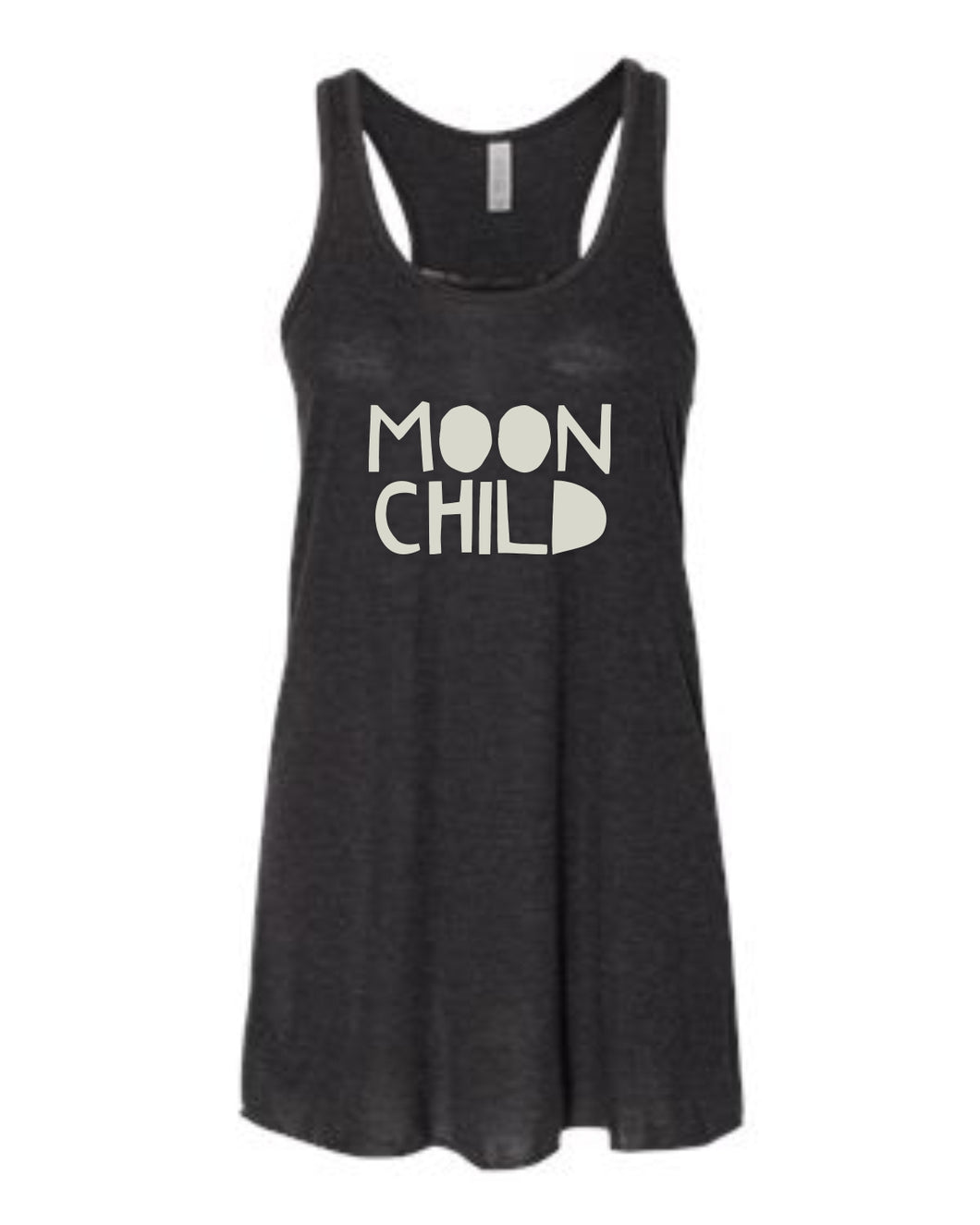 MOON CHILD, Flowy Tank Champagne Foil