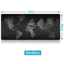 Load image into Gallery viewer, World Map Large Mousepad