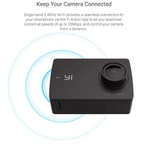 Load image into Gallery viewer, YI Action Camera 1080P Lime Green White Black 16MP Full HD 155 degree Ultra-wide Angle Sports Mini Camera