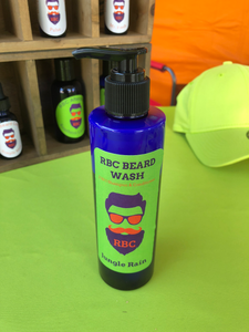 Beard wash - Jungle Rain - 8oz. Bottle
