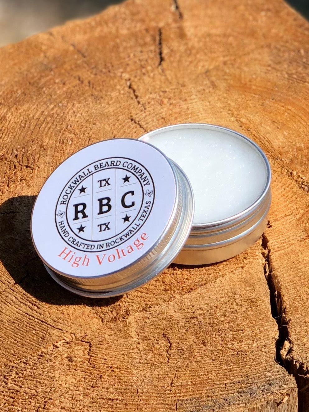 High Voltage Balm (Coconut Oil Base) - 2 oz. size