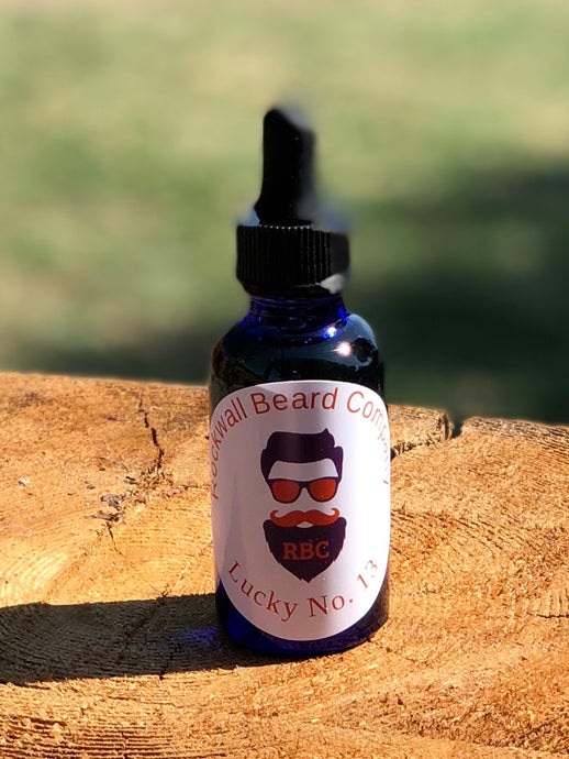 Lucky No. 13 Beard Oil