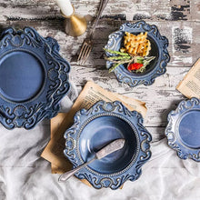 Load image into Gallery viewer, Victorian Blue Crockery