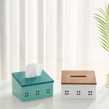 Load image into Gallery viewer, House Shaped Tissue Box Holder
