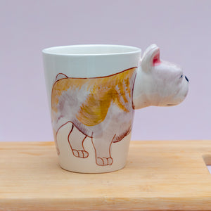 3D Bulldog Mug - the-little-details-home-accents