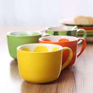 Fruity Fruit Mugs
