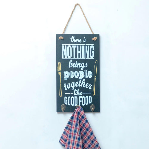 Good Food Quote Wall Hooks - the-little-details-home-accents