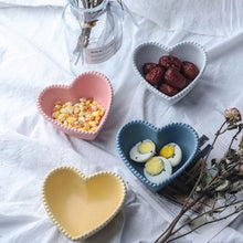 Load image into Gallery viewer, Pastel Heart Snack Bowls - Set of 2