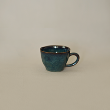 Load image into Gallery viewer, Accent Blue Tea Cups - Set of 2