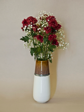 Load image into Gallery viewer, Almond Dipped Vase