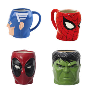 3D Superhero Mugs - the-little-details-home-accents
