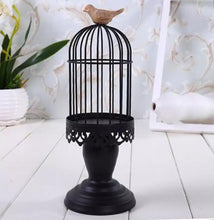 Load image into Gallery viewer, Bird Cage Candle Holder - the-little-details-home-accents
