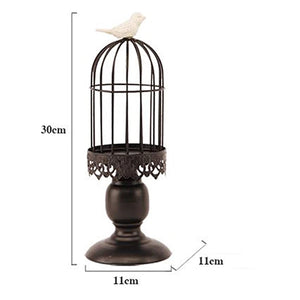 Bird Cage Candle Holder - the-little-details-home-accents