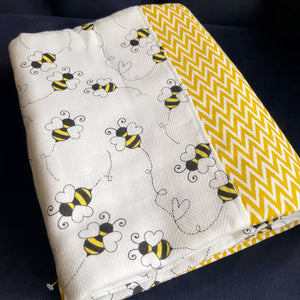 Buzzing Busy Bedcover