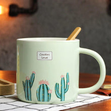 Load image into Gallery viewer, Cactus Love Print Mug - the-little-details-home-accents