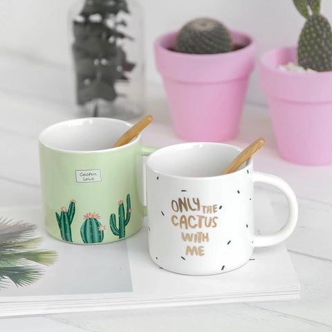 Cactus Love Print Mug - the-little-details-home-accents