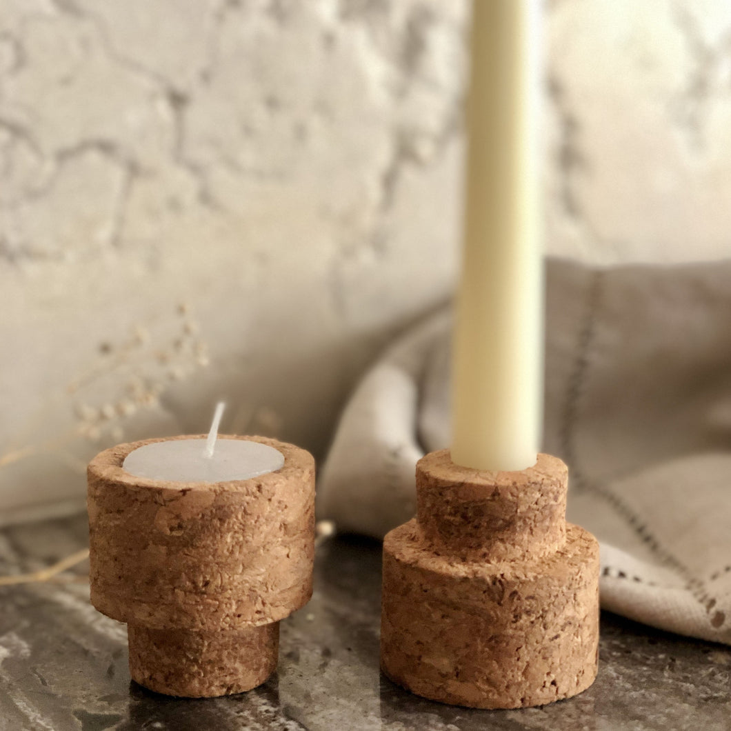 Reversible Candle Stand - Set of 2