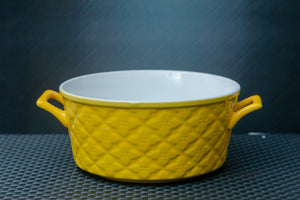 Quilted Ceramic Serving Bowls - the-little-details-home-accents
