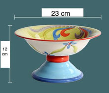 Load image into Gallery viewer, Ceramic Fruit Bowl Stand - the-little-details-home-accents