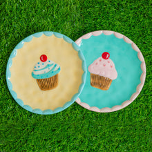 Load image into Gallery viewer, Cupcake Dessert Plates - Set of 2