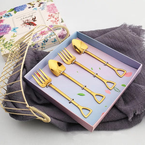 Gardening Dessert Cutlery Set - the-little-details-home-accents