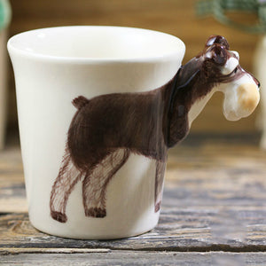 3D Black Terrier Mug - the-little-details-home-accents