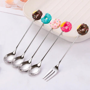 Mini Doughnut Cutlery Set - the-little-details-home-accents