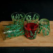 Load image into Gallery viewer, Eucalyptus Leaves Glasses - Set of 6