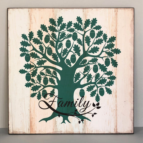 Family Tree Wall Hanging - the-little-details-home-accents