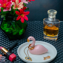 Load image into Gallery viewer, Flamingo Trinket Tray - the-little-details-home-accents