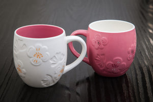 Floral Coffee Mug - the-little-details-home-accents