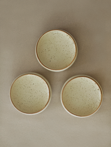 Frosted White Serving Bowls