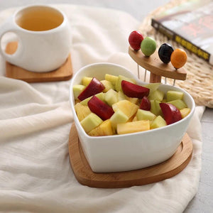 Heart Snack Bowl - the-little-details-home-accents