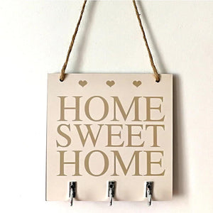 Home Sweet Home Key Holder - the-little-details-home-accents