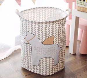 Flying Horse Laundry Hamper - the-little-details-home-accents