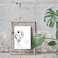 Load image into Gallery viewer, It's All In Your Head Illustration Art Print