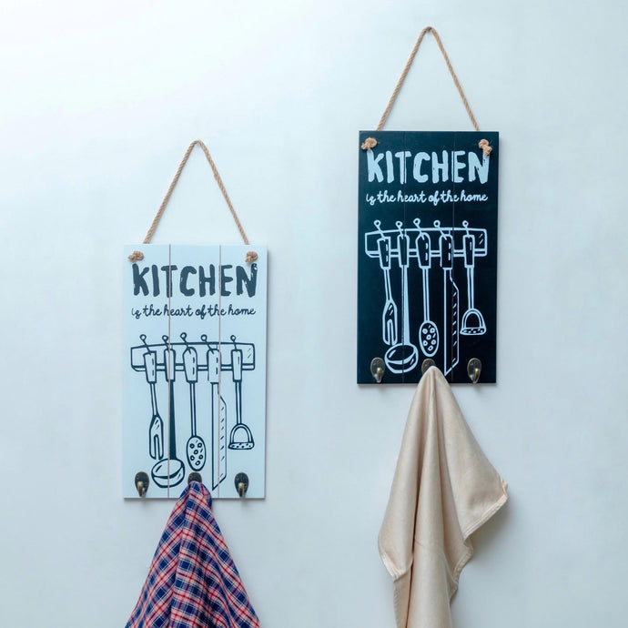 Kitchen Quote Wall Hooks - the-little-details-home-accents