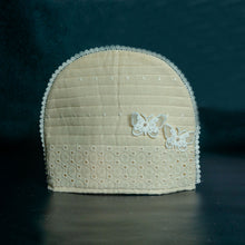 Load image into Gallery viewer, Lace Butterflies on Hakoba Tea Cosy