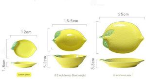 Lemon Crockery