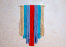 Load image into Gallery viewer, Multi Coloured Macrame Wall Hanging