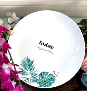 Nature Theme Plates - the-little-details-home-accents